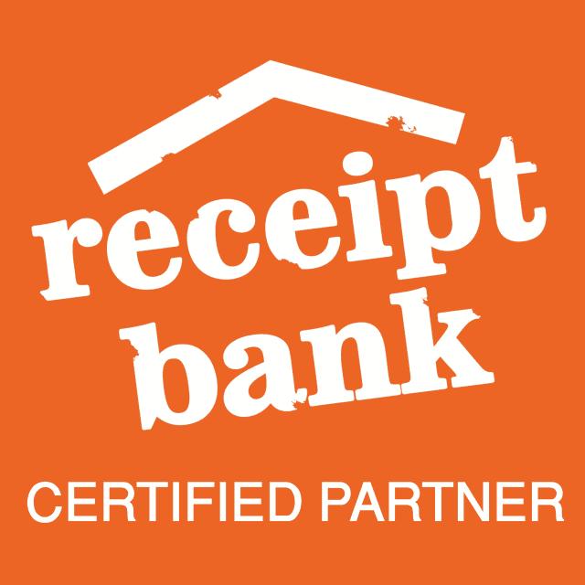 Receipt Bank Certified Partner Badge